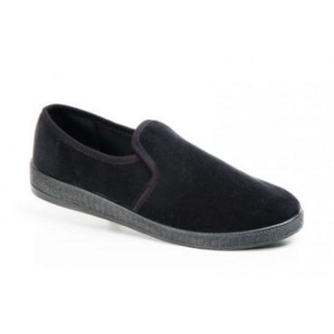 туфли мужские(вельвет чёрный)