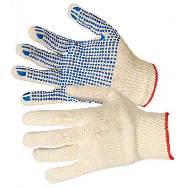 Перчатки  х/б с покрытием ПВХ (10-й класс)