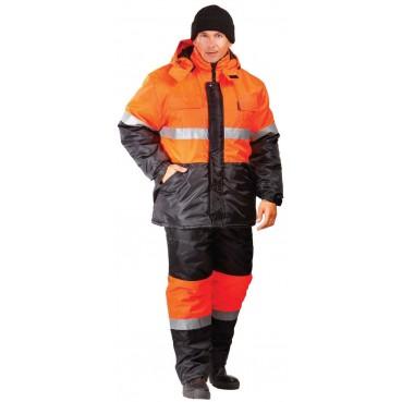 """Куртка сигнальная """"СИГНАЛ""""-Утепленная"""