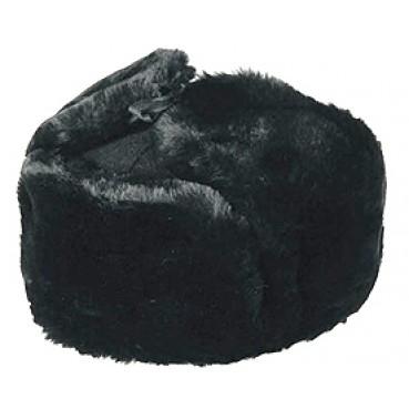 Шапка-ушанка из искусственного меха