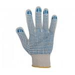 Перчатки трикотажные с покрытием ПВХ  №1  (10-й класс)