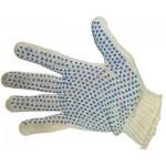 Перчатки трикотажные с покрытием ПВХ    (10-ый класс) Эконом