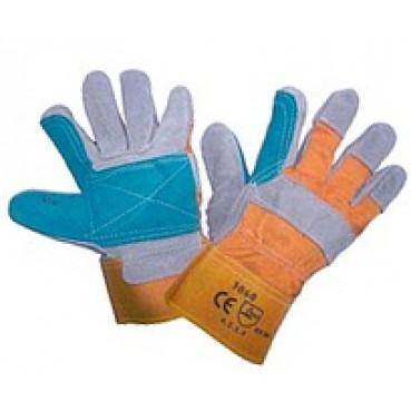 Перчатки «ПРОФЕССИОНАЛ» спилковые комбинированные усиленные