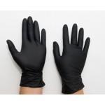Перчатки нитриловые повышенной прочности.